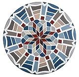 Wenko Spann-Tischdecke in Mosaikoptik