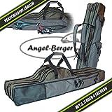 Luxus Rutentasche Rutenfutteral viele Modelle verschiedene Längen (4 Fächer 1.50m)