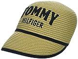 Tommy Hilfiger Damen Straw Baseball Cap Beige (Natural 901) One Size (Herstellergröße: OS)