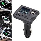 Gaddrt Auto-Musik-MP3-Player FM-Transmitter Dual-USB-Lade-SD-MMC-Fernbedienung Transmitte Auto-Ladegerät
