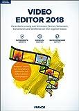 FRANZIS Video Editor 2018|2018|Die einfache Lösung zum Schneiden, Drehen, Verbessern, Konvertieren und Veröffentlichen Ihrer eigenen Videos|Windows 10 / 8.1 / 8 / 7|Für PC|Disc|Disc