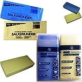 4 x Saugwunder XXL Saug Schwamm Saugblock extra superstark 2x mit und 2x ohne Box