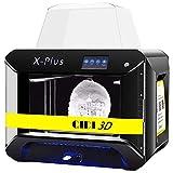 QIDI TECH 3D-Drucker, X-Plus-Verfahren für intelligentes industrielles 3D-Drucken mit Nylon, Kohlefaser, PC,0.05mm Hochpräzisionsdruck, Druckfläche von270 x 200 x 200mm