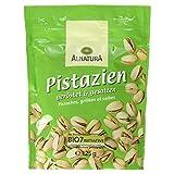 Alnatura Bio Pistazien, geröstet und gesalzen, vegan, 4er Pack (4 x 125 g)