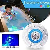 CHL Baby LED-Licht Sieben Farben leuchtende Bad Bad schwimmende Spielzeug, Wasser Nachtlicht für Kinder 9 * 9 * 5,5 cm