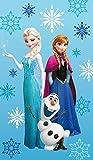 Disney die Eiskönigin Strandtuch 75 x 150 cm Elsa, Anna, Olaf 100% Baumwolle Frozen 'ARCTIC'