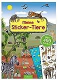 Meine Sticker-Tiere: Mit über 400 Stickern (Mein Stickerbuch)