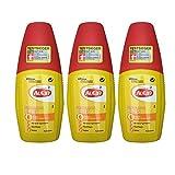 Autan Protection Plus Multi Insektenschutz Pumpspray 100ml - schützt bis zu 8 Stunden vor Mücken, bis zu 5 Stunden vor Stechfliegen wie z.B. Bremsen (3er Pack)