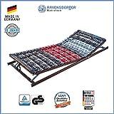 Ravensberger Matratzen Meditec Lattenrost   5-Zonen-TPEE-Teller-Systemrahmen   Schichtholzrahmen  verstellbar  MADE IN GERMANY - 10 JAHRE GARANTIE   TÜV/GS 90 x 200 cm
