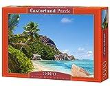 Castorland C-300228-2 - Tropical Beach, Seychelles, 3000, Klassische Puzzle