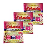 10 x Cekasin Gardinen-Color, Gardinen-Waschmittel, Farbauffrischung, Waschpulver