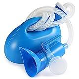 BESTOOL Urinflasche für Damen und Herren 2000 ml Tragbares Töpfchen Flasche für Krankenhaus Camping Auto Reise WC Urinal (blau)