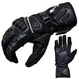 Motorradhandschuhe Sommer Tour PROANTI Motorrad Handschuhe (Gr. XS - XXL, schwarz)
