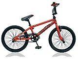 Unbekannt 20 Zoll BMX Kinder Jugend Jungen Fahrrad Rad KINDERFAHRRAD 360° Rotor Freestyle Bike Jumper ORANGE