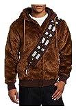 Star Wars Chewbacca Kostüm Herren Hoodie Braun Warm XL