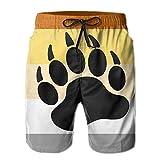 Doormat bag Gay Bear Men's Summer Quick Dry Swim Trunk Drawstring Surf Board Shorts Swimwear XX-Large