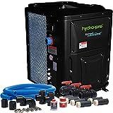 Hydro-Pro Wärmepumpe 18 kW 230 V Ganzjahresmodell bis 85 m³ mit Bypass-Set by time4wellness