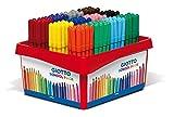 Giotto 5238 00 - Turbo Color Schulbox, Schreibwaren, farbig sortiert, 144-er set
