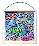 Melissa & Doug - 18582 - Glasmalerei Ganz Leicht! - Ozean
