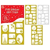 Traditionelle Design Folie Weihnachten Geschenk Etiketten???Weihnachten Geschenk Kennzeichnung