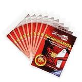 Thermopad Rücken-Wärmer | Heiz-Pad für den Rücken | 12 Stunden wohltuende Wärme von 53°C | angenehmes Wärmekissen | einfache Anwendung, sofort einsatzbereit | 10er Pack