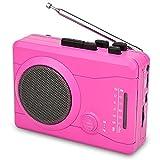 DIGITNOW! USB Kassettenrekorder Personal Audio Recorder mit Lautsprecher, Radio Recording Kassette zu Digital MP3 Converter
