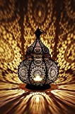 Orientalisches Indisches Metal Windlicht Ziva