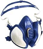 3M Atemschutz-Halbmaske 4277/Komplettmaske gegen organische & anorganische Gase, Dämpfe & Partikel/Geruchsmindernde Atemschutzmaske der Schutzstufe A2P3