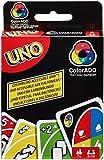 Mattel Games GDP08 UNO ColorADD Kartenspiel mit Farbsymbolen, geeignet für 2 - 10 Spieler und Farbenblinde, Spieldauer ca. 15 Minuten, ab 7 Jahren