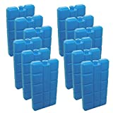 96 Stück NEMT Kühlakkus Kühlelemente je 200ml für Kühltasche oder Kühlbox bis 12 h Kühlpack Kühlakku
