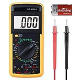 Digital Multimeter, Multimeter Messgeräte Digitales Voltmeter Amperemeter Ohmmeter, Multimeter Voltmeter Spannungsmesser Stromprüfer Widerstand Elektronisches Messgerät mit LCD-Anzeige