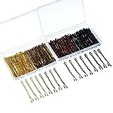 200 Stücke Bobby Pins 4 Farben Haarnadeln Haarspangen mit Clear Boxes für Mädchen und Damen