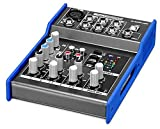 Pronomic M-502U Live/Studio Mischpult (1 Mono-Kanal XLR/Klinke, 2-Stereo Kanäle, 2-Band-EQ, USB-Schnittstelle, 48V Phantomspeisung)