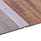 Gedotec Übergangsprofil Aluminium Übergangsschiene gelocht Bodenprofil zum Schrauben - SUPERFLACH | Breite 30 mm | Alu Silber eloxiert | 200 cm | 1 Stück - Ausgleichsprofil für Vinyl - Laminat UVM.