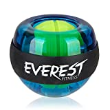 EVEREST FITNESS Energyball zum Training der Hand- und Armmuskulatur mit gummiertem Griffbereich und Gehäuse aus bruchfestem Kunststoff und 2 Jahren Zufriedenheitsgarantie - Handtrainer