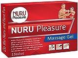 NURU Massage Gel Pulver. Machen sie ihre eigenen magischen Nuru Gel, Super Glatt, Geruchlos und Geschmacksneutral, Ideal für nasse Nuru Gel Massagen und erotische Body-to-Body Massage. (1 sachet (für 1x 500 ML Nuru Gel))