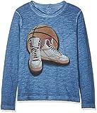 NAME IT Jungen NKMNASMUS LS TOP Sweatshirt, Blau (Navy Peony), 122 (Herstellergröße: 122-128)