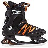 K2 Skates Herren F.I.T. Ice BOA Schlittschuh, schwarz-orange, 44 EU (9.5 UK)