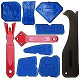Bebliss 10 STÜCKE Verstemmen Werkzeug Kunststoff Schaber Schaufel Glaskleber Werkzeug Heimwerker Reinigungswerkzeug