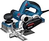 Bosch Professional Hobel GHO 40-82 C (Falztiefenanschlag, Parallelanschlag, Staubbeutel, Zusatzmesser, Koffer, 850 Watt, Hobelbreite: 82 mm, Spandicke einstellbar: 0 - 0,4 mm)