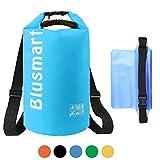 Blusmart Dry Bag, 10L / 20L wasserdichte Tasche / Trockensack, Wasserdichte Beutel mit Wasserdichter Handybeutel,  Für Ruder- und Paddeltouren / Rafting Angeln / ideal zum Speichern von Mobiltelefonen/ Schuhe Super Wasserdicht.