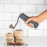y2y3zfal Mini Manuelle Handkurbel Kaffeemühle Pfeffer Bohnen Maschine Küchenmühle golden