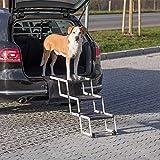 Trixie Heimtierbedarf Tarp Neuheit Falt-Treppe Petwalk für Hunde Höhe: bis zu 57 cm Tiefe: bis zu 120 cm bis zu: 75 kg Hunderampe Autorampe 39376