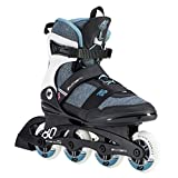 K2 Damen Inline Skates ALEXIS 80 PRO - Schwarz-Grau-Blau - EU: 40.5 (US: 9.5 - UK: 7) - 30D0772.1.1.095