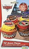 Dekoback Essbare Zucker-Muffinaufleger Cars, 1er Pack (1 x 42 g)