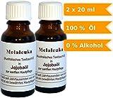 Australisches Teebaumöl (Melaleuka) in Jojobaöl - 100% naturreines Öl - 2x20ml