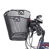 Fischer Lenkerkorb mit Schnellbefestigung, speziell für E-Bikes geeignet, Tragkraft 5kg, Quick & Easy Montage