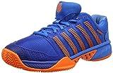 K-Swiss Performance Herren Hypercourt Express HB Tennisschuhe, Blau (Brilliant Blue/Neon Orange 427M), 49 EU
