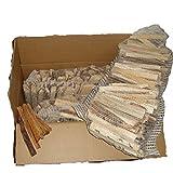 22 kg mumba Anzündholz mit Kienspänen Anfeuerholz kammergetrocknet Kaminanzünder