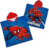 Badeponcho / Badetuch 'KIDS DELUXE' - Spiderman